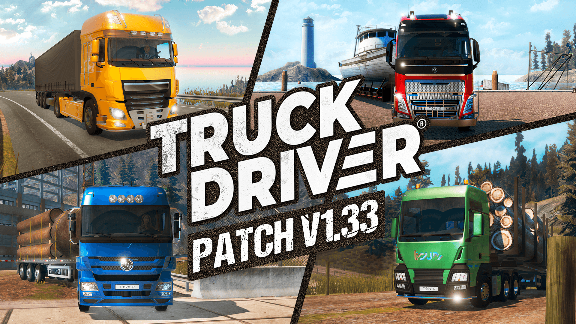 Truck Driver update v1.33 now live on Xbox One & PC