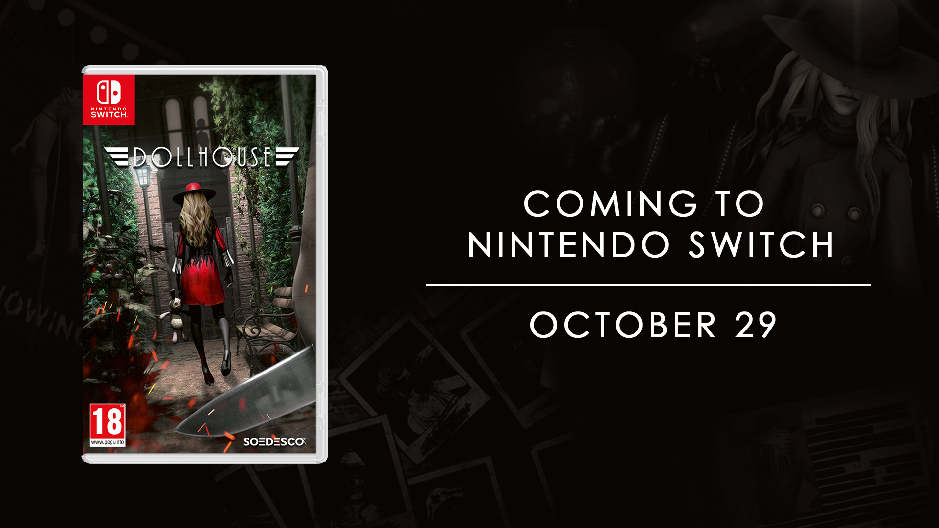 Let the chase begin: Dollhouse to launch on October 29 on Nintendo Switch