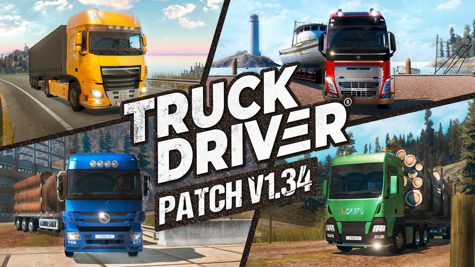 Truck Driver update v1.34 now live on PlayStation®4, Xbox One, Nintendo Switch & PC
