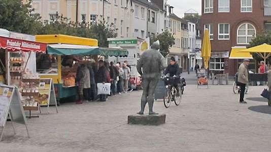 Ein Bild vom Markt der Stadt Troisdorf.