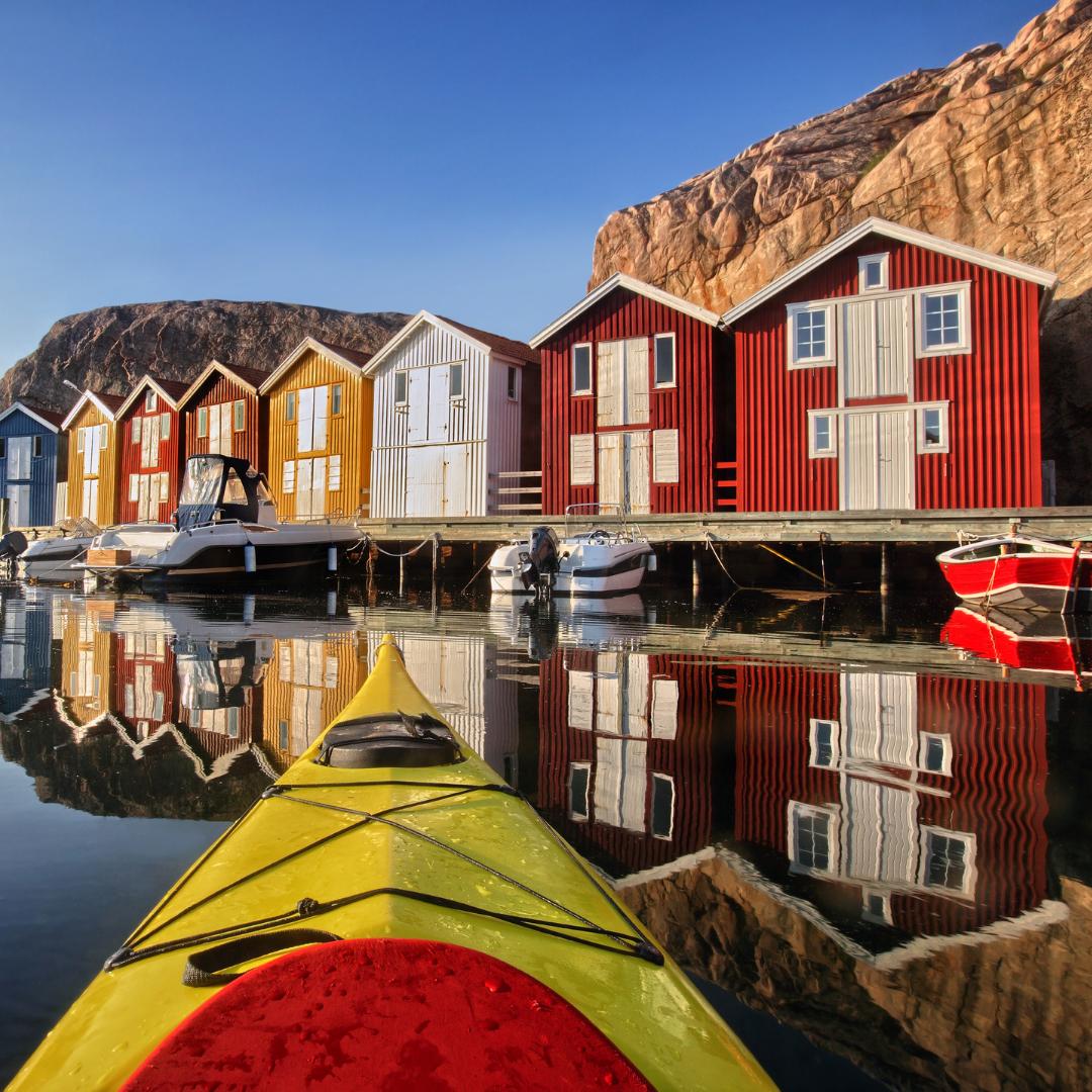 Natur und Kultur- Schweden hat viel zu bieten. Foto: Canva
