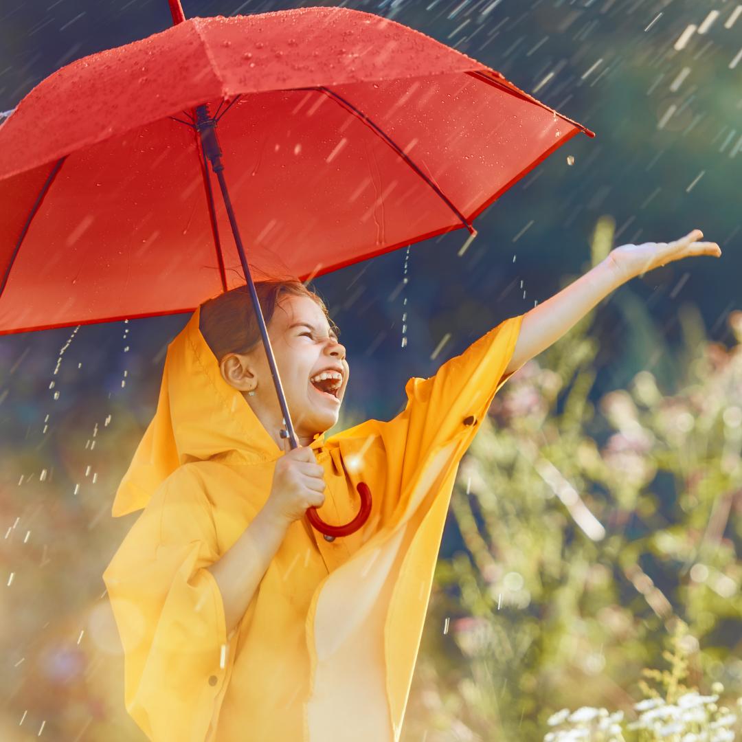 Auch eine Möglichkeit: Stellen Sie sich dem Wetter! (Foto: Canva)