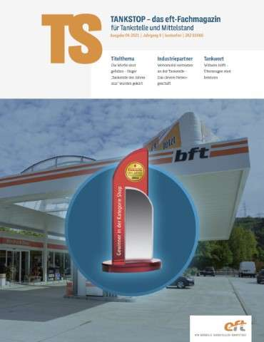 EFT Tankstop Magazin Cover