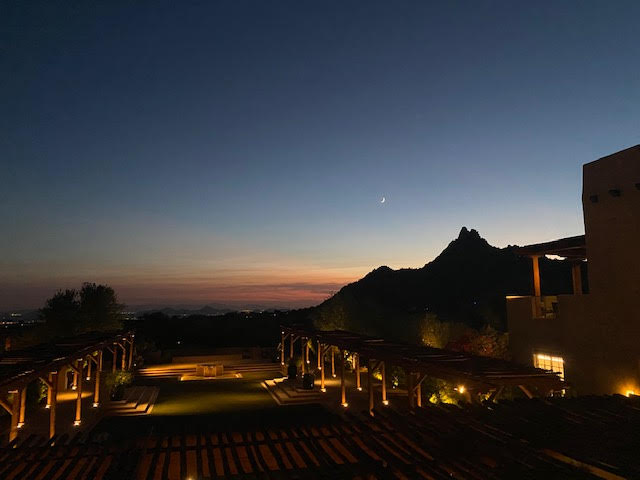 night sky view in Arizona