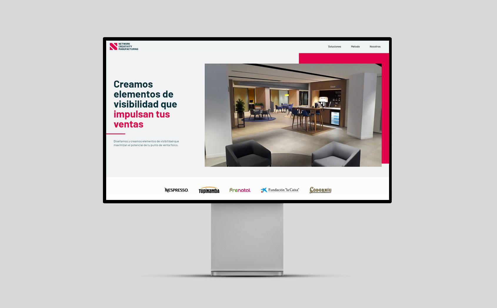 Web Corporativa para Empresa de Diseño &Fabricación de elementos PLV