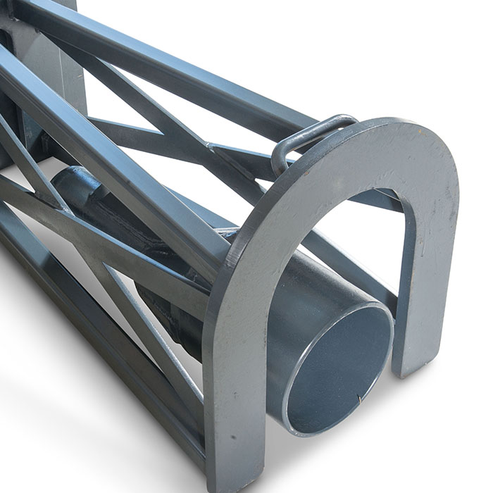 Extractor frame