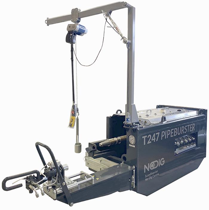 T247 Hydro-Static Pipeburster