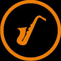 Saxophon Icon