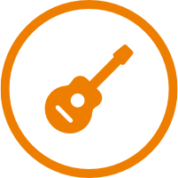 Westerngitarre Icon