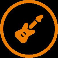 E-Gitarre Icon