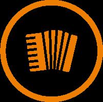 Akkordeon Icon
