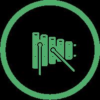 Glockenspiel Icon