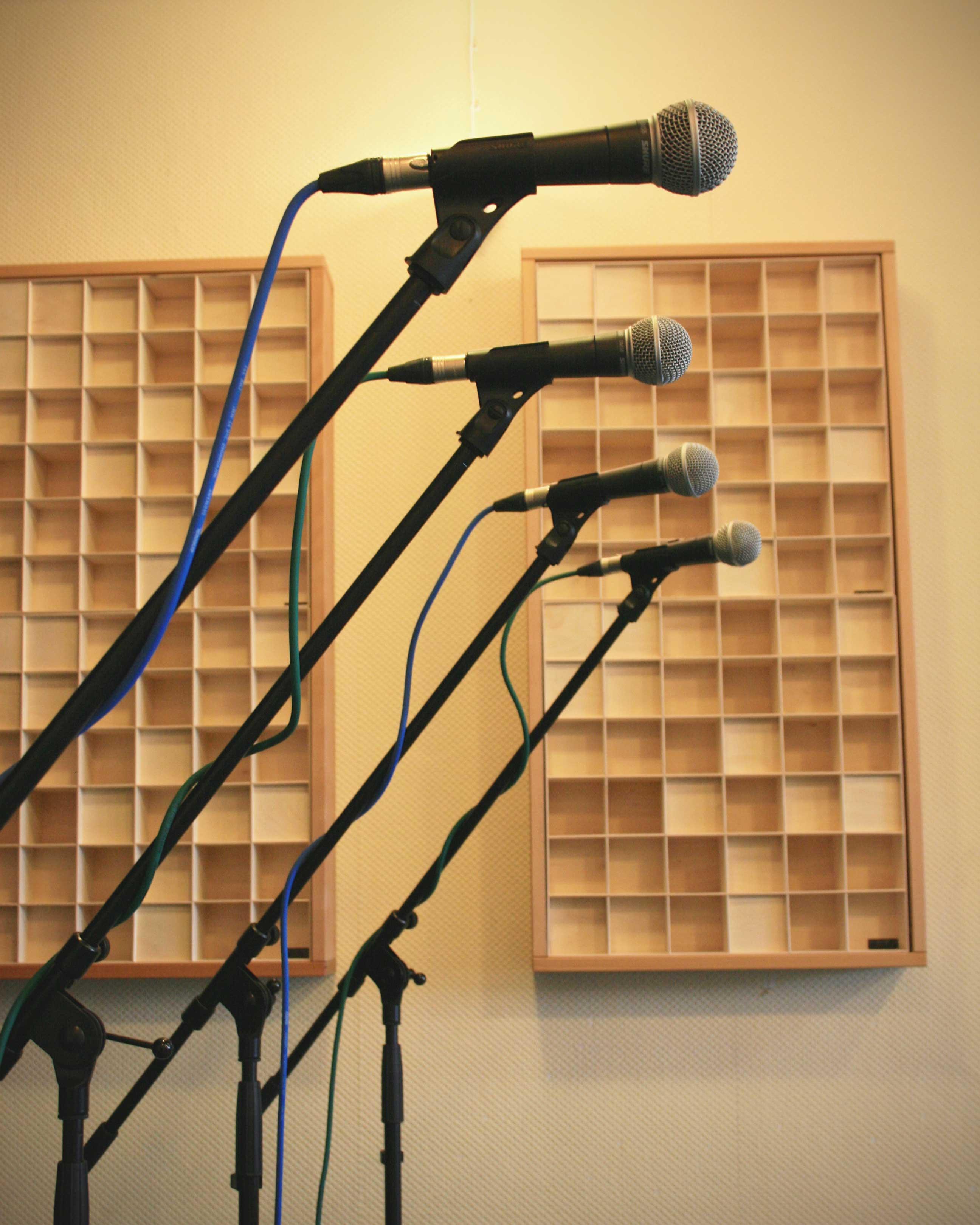 Mikrofone für Gesang