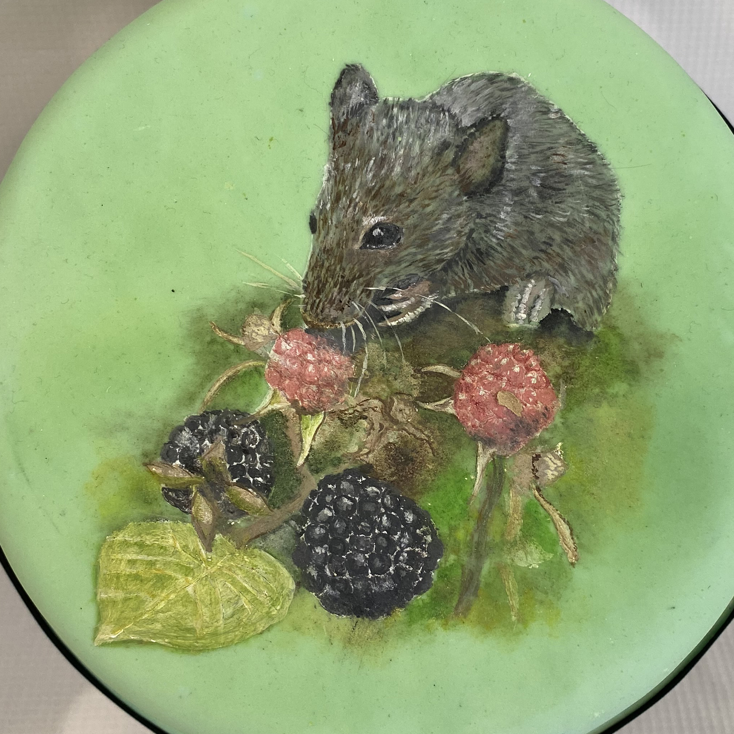 Mouse and Blackberries