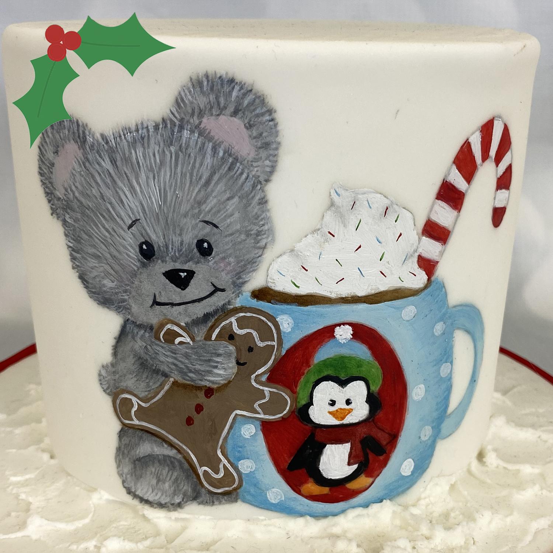 Christmas Teddy and Mug