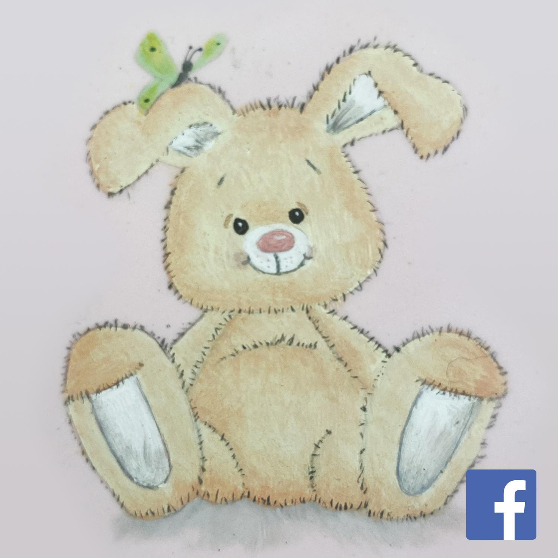 Bunny on sugarpaste and bonus lesson on a chocolate egg