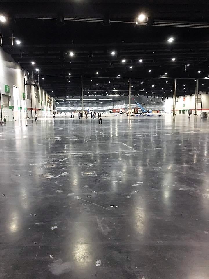 BITEC empty halls