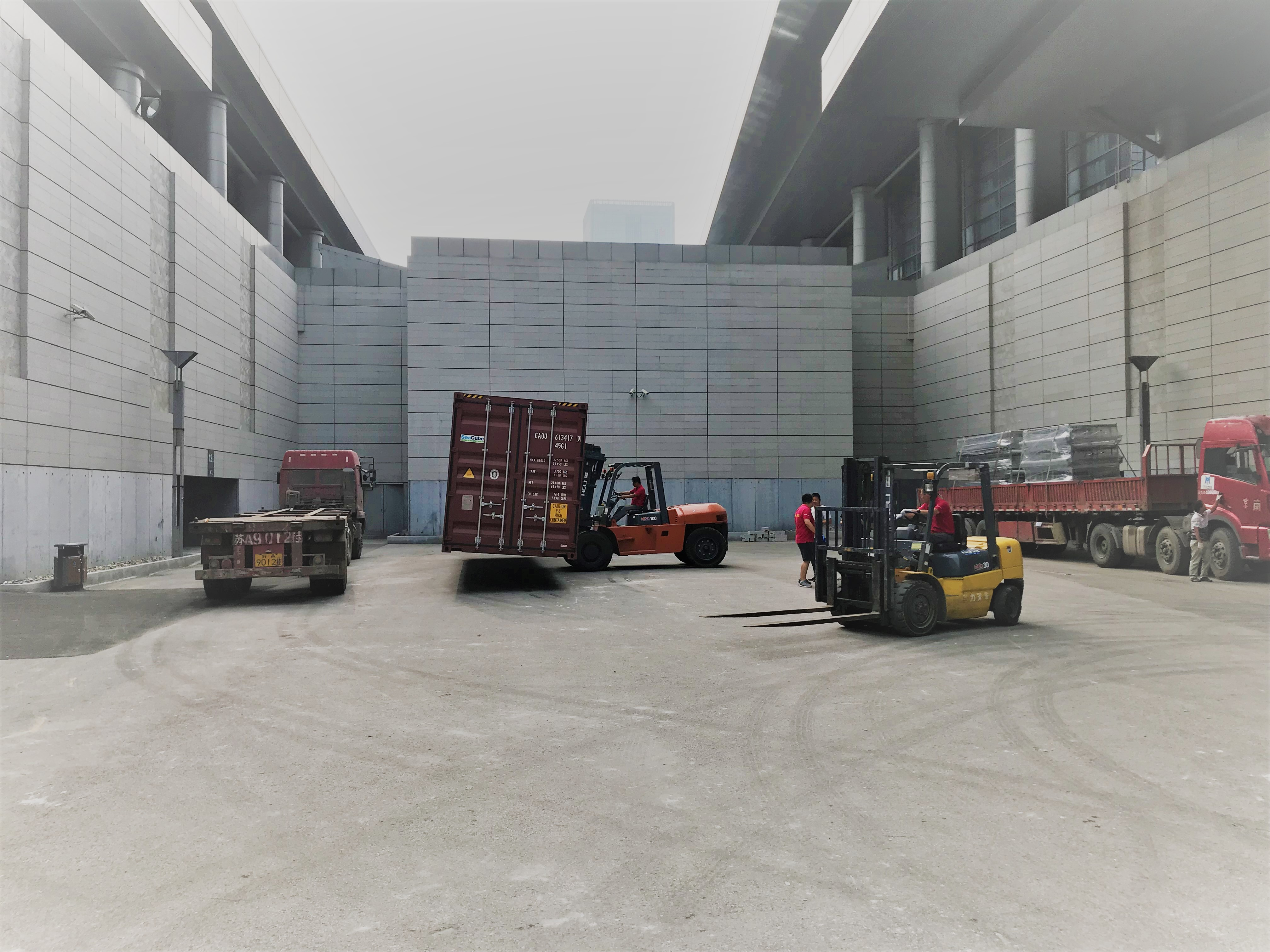 Container load China