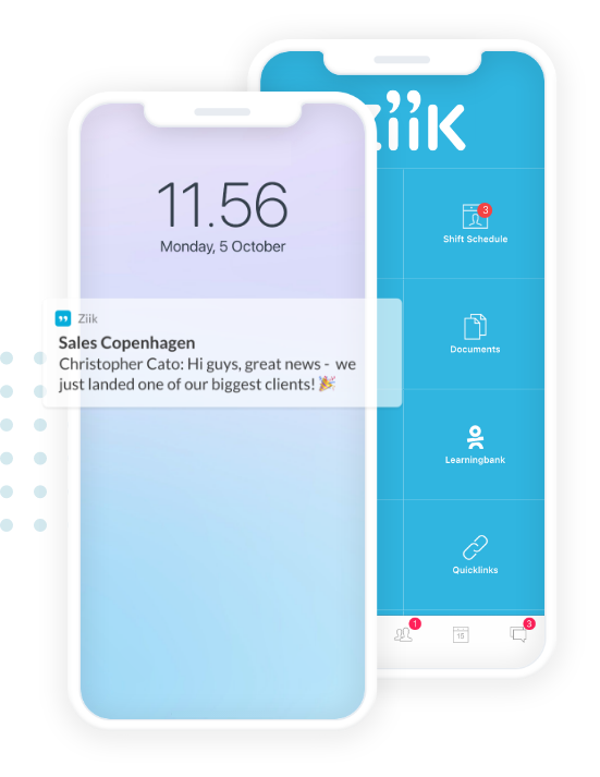 connected phones mockup