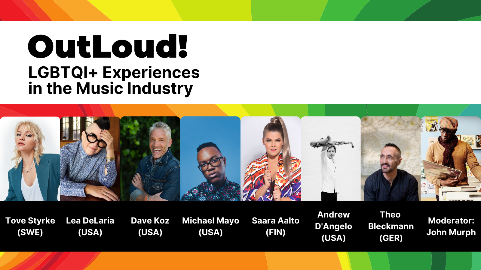 OutLoud! LGBTQI+ Experiences in the Music Industry