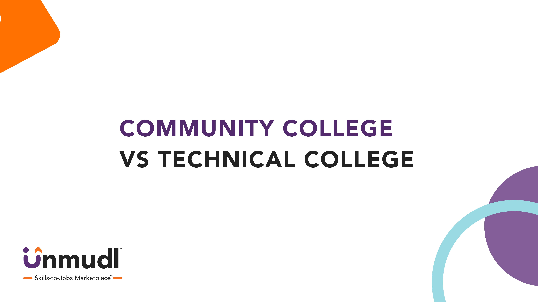 Community College vs Technical College: A Breakdown