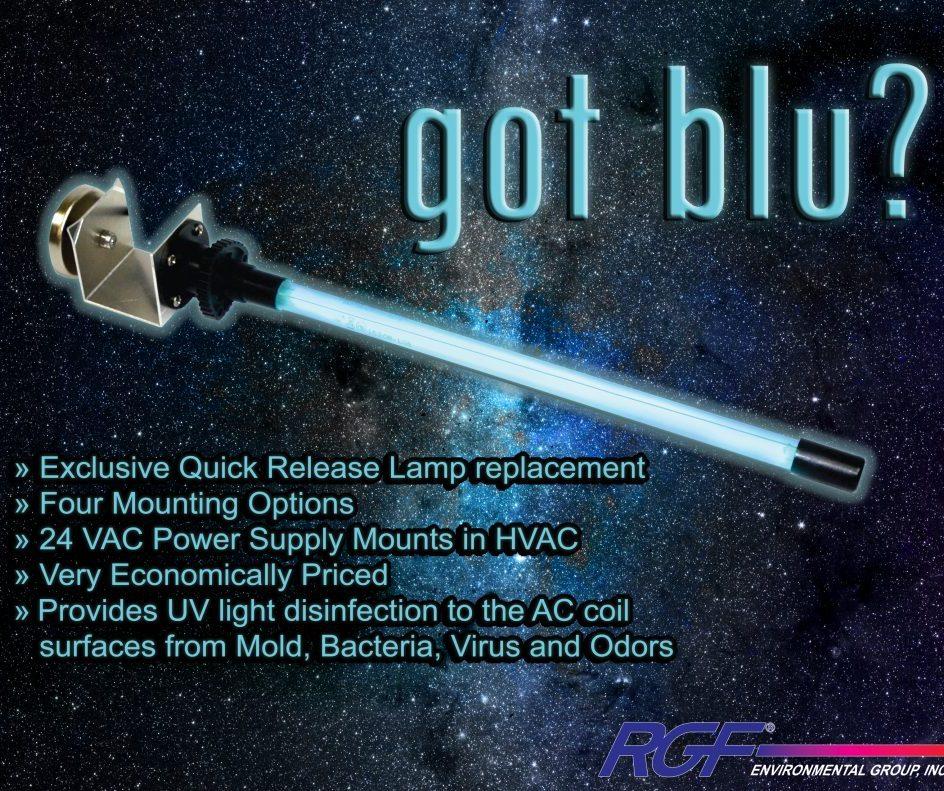Blue Stick UV light by RGF