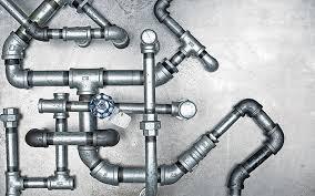 Galvanized Plumbing pipe work