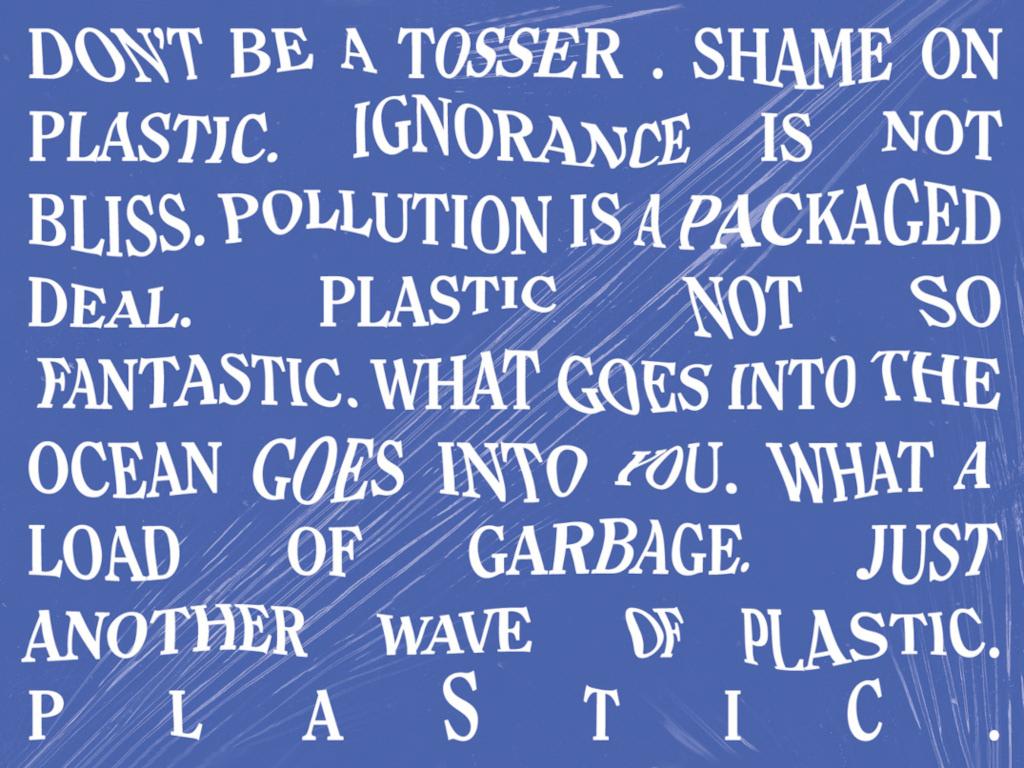 Plastic Free Oceans - Campaign