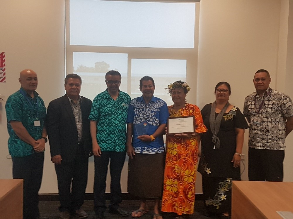 Being on the ground at the Pacific Islands Forum builds connections