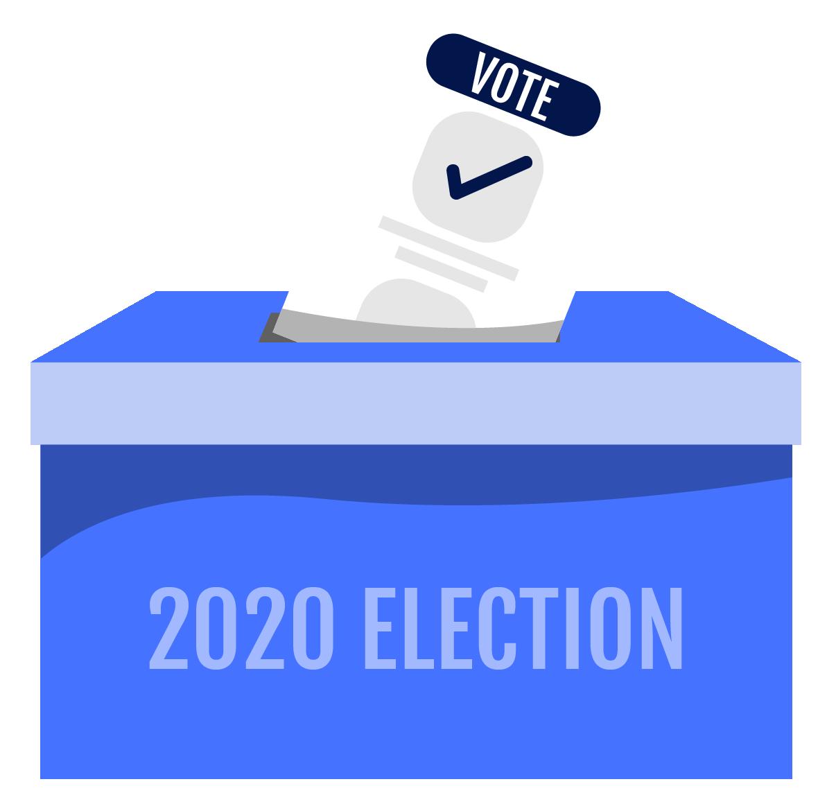 ballot going into ballot box