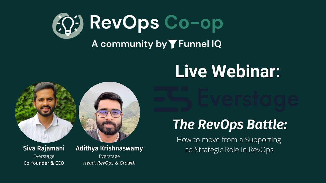 The RevOps Battle - How to Move from a Supporting to Strategic role as RevOps