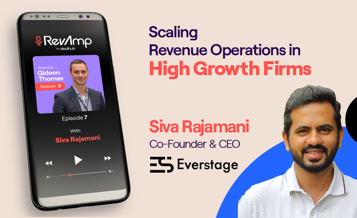 Siva Rajamani: Scaling Revenue Operations in High Growth Firms