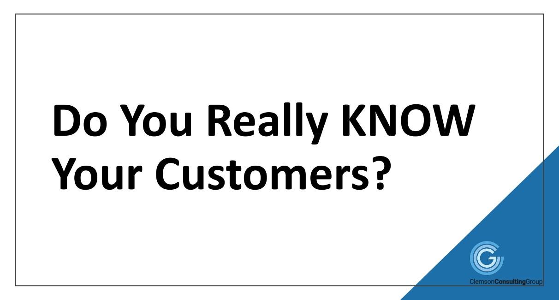 ICYMI - SCRA Webinar: Do You Really Know Your Customers?