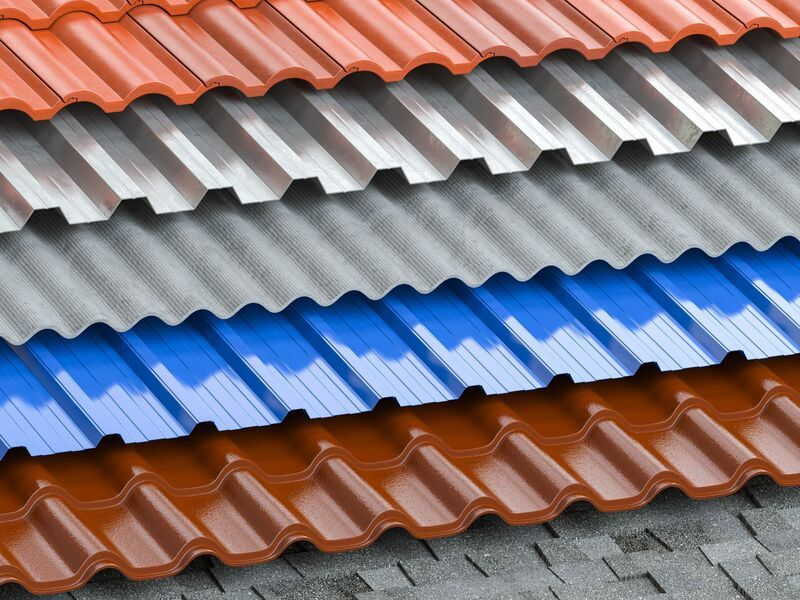 Different Metal Roofing Materials
