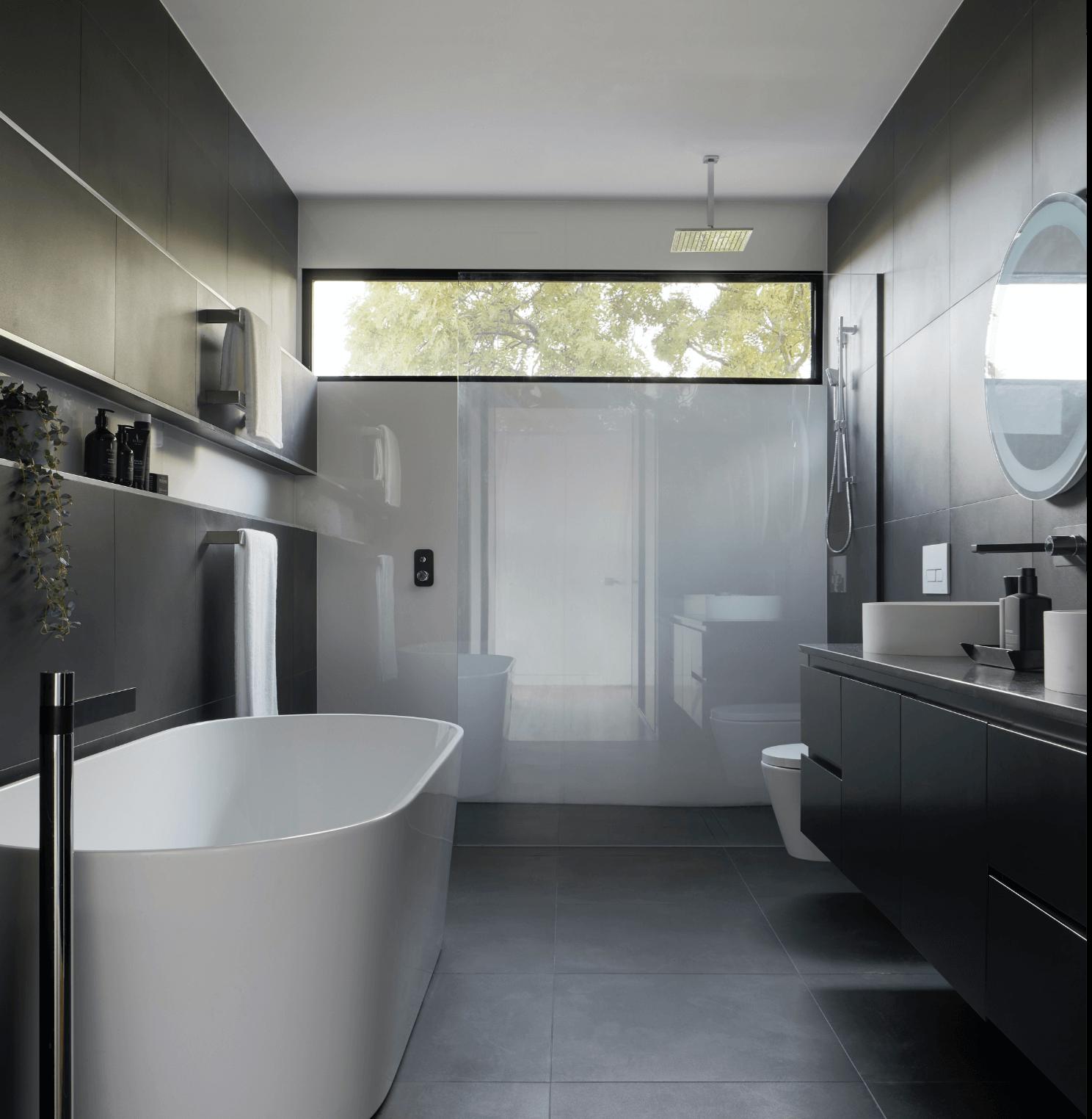 A bathroom created by Steylaerts