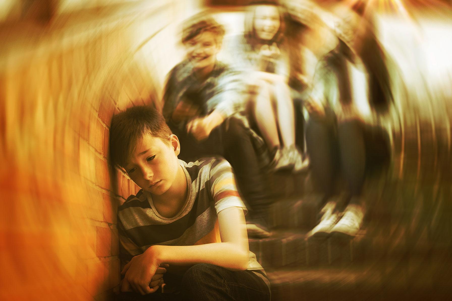 Mobbing Situation unter Schulkindern
