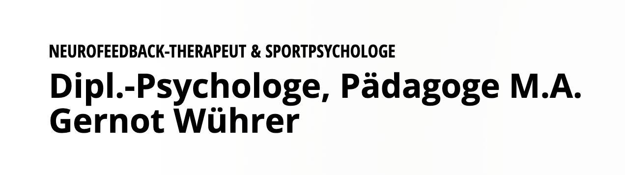 Praxis für Neurofeedback - Sportpsychologie - Verhaltenstherapie im Herzen Münchens