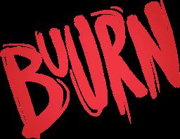 Buurn game logo