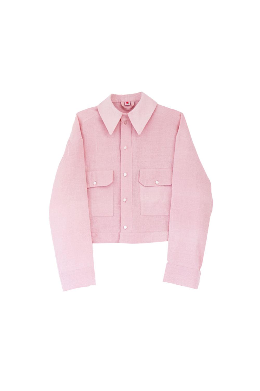 the Branda jacket - light pink