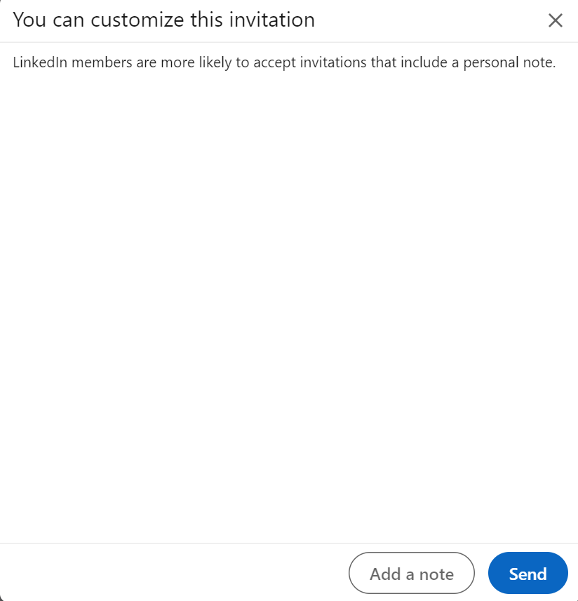Linkedin Invite