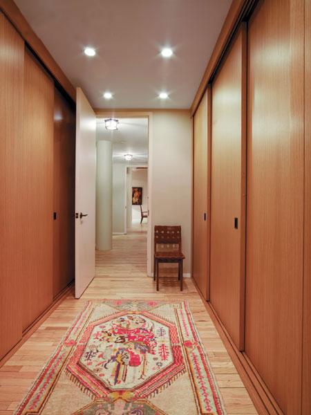Tribeca Loft Hallway