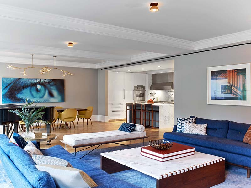 West 82nd Street Living Space