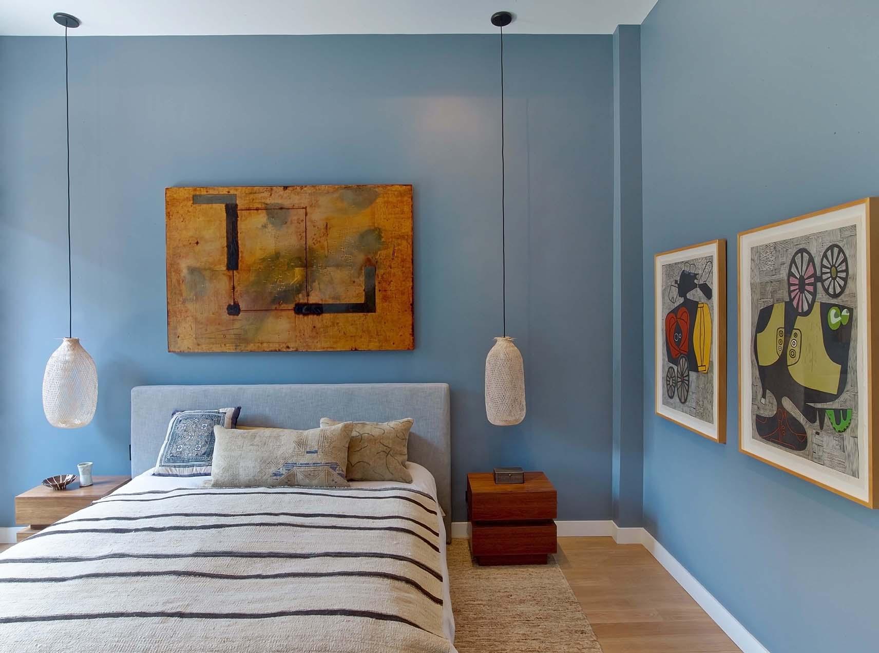 Flat Iron Loft Bedroom