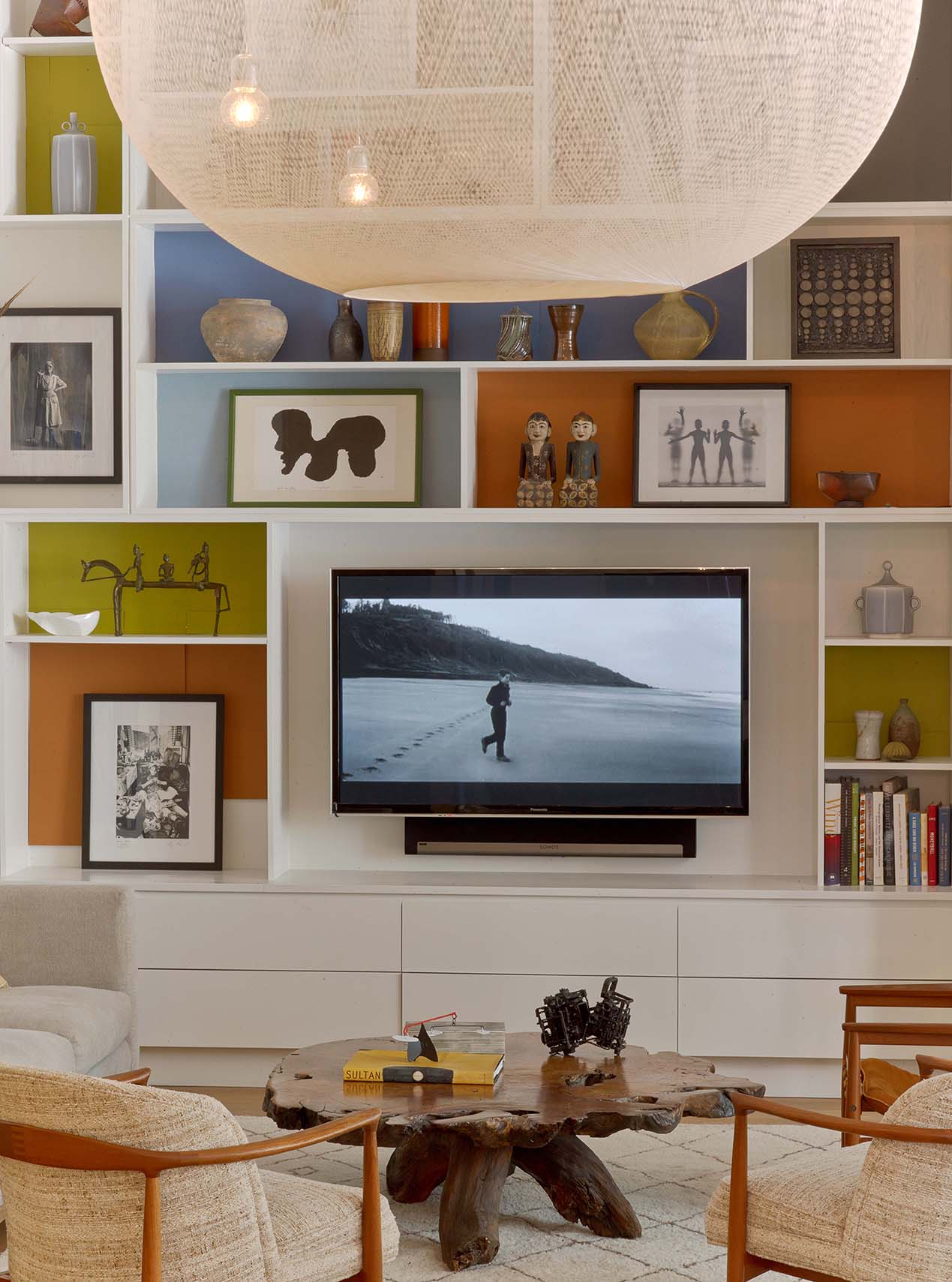 Flat Iron Loft Living Room
