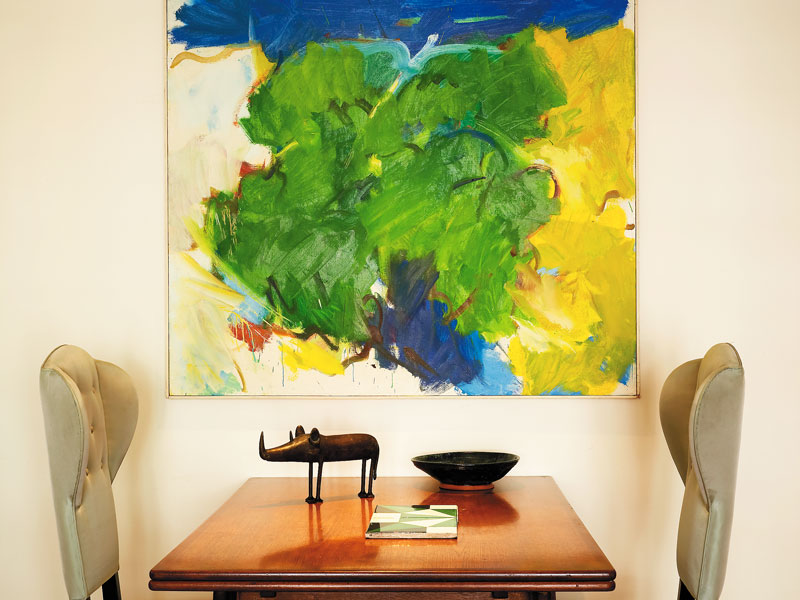 Sutton Place Table and Painting