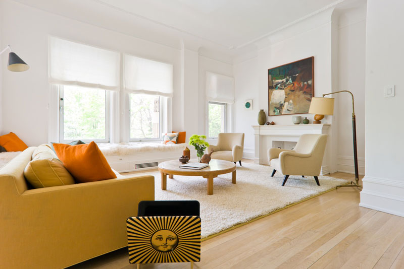 Central Park West Prasada Living Room