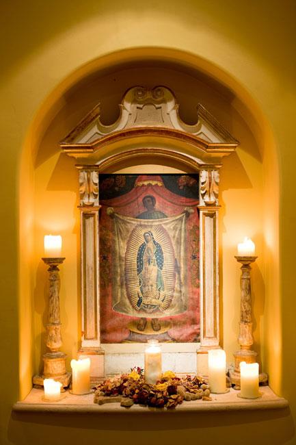 San Diego House Altar
