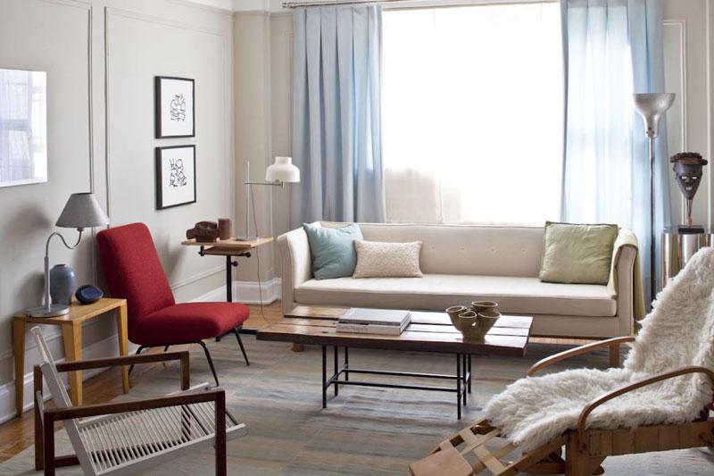 Central Park West - Apartment Living Room