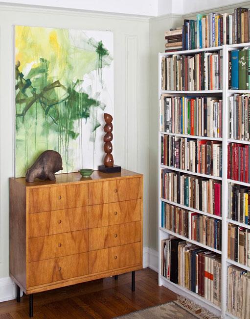 Central Park West - Apartment Bookcase and Dresser