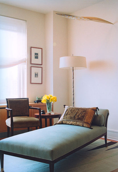 Central Park West - Apartment Seating Area
